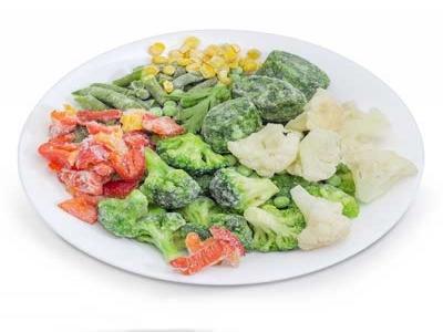Frozen Vegetable  Sorting